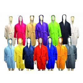 Microfibre bathrobe 170 gsm
