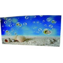 Beach towel 80x160 cotton / microfiber sublimation