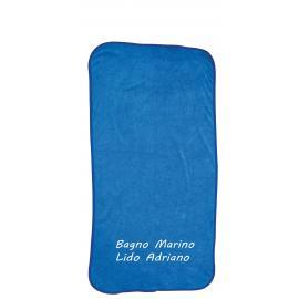 Beach towel 90x160 microfiber curly hair 350 gsm